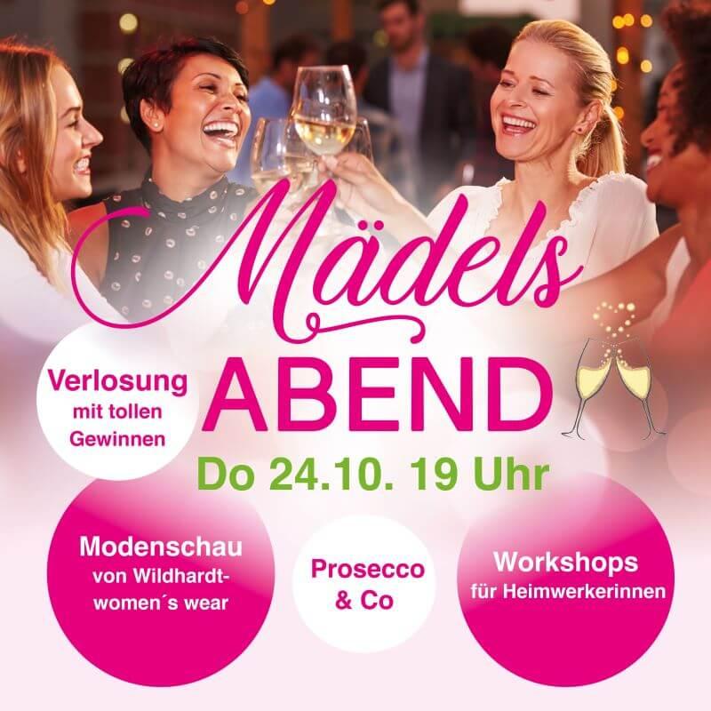 Einladung Maedelsabend 2019