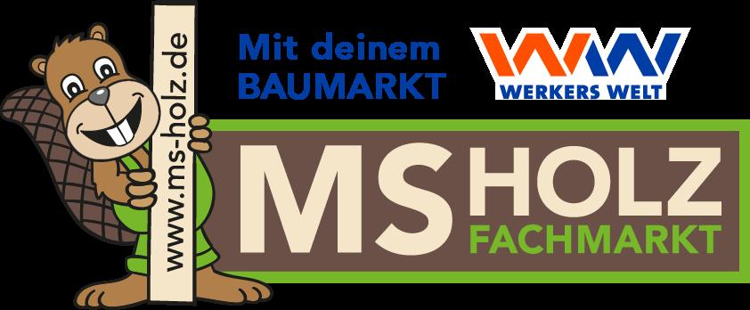 MS-Holzfachmarkt mit Baumarkt Werkers Welt